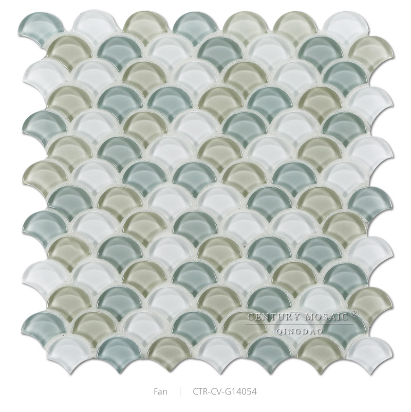 premium mixed color glossy fish scale glass mosaic tiles buy glass mosaic tile iridescent glass mosaic tile irregular glass mosaic tiles product on
