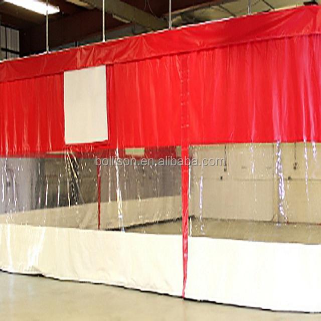 custom industrial curtain clear plastic vinyl curtain walls divider for garage many applications buy industrial curtain plastic curtain wall for