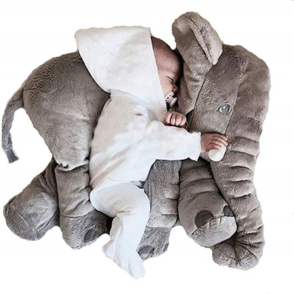 baby children kids soft plush giant elephant stuffed sleep pillow for kids lumbar cushion toys xxl 60cm dolls toys for kids buy baby soft plush