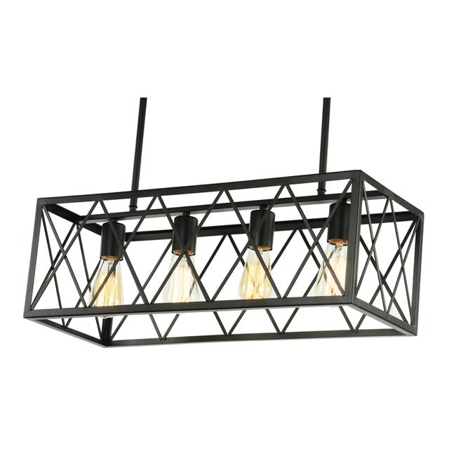 4 edison bulb light kitchen island pendant rustic rectangular modern chandelier home depot industrial lighting bedroom hallway buy led hallway