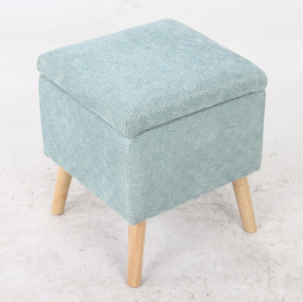 carlford oem fabric storage ottoman with wooden legs storage bench for living room buy fabric storage ottoman small storage bench fabric ottoman