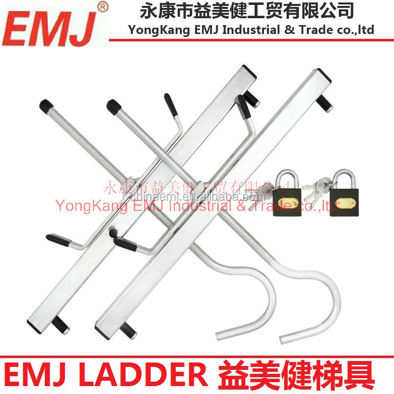 ladder rack clamps pair for roof rack extension ladders buy ladder clamps long shackle combination padlock ladder rack clamps product on