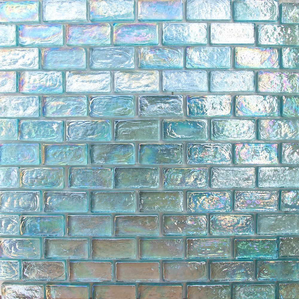 1x2 aqua blue iridescent brick glass mosaic for wall and pool tile buy iridescent mosaic iridescent mosaic iridescent mosaic product on alibaba com