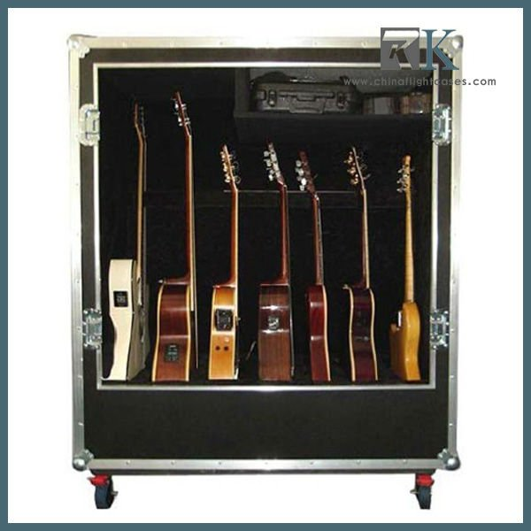 guitar case deluxe guitar case holds 7 guitars buy guitar case guitar flight case guitar road cases product on alibaba com