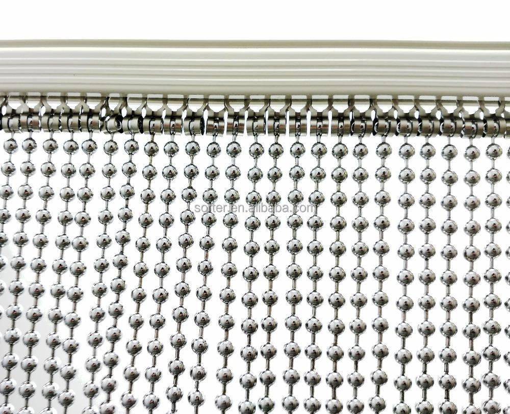 metal bead curtain metal beaded chain curtain metal string link curtain buy metal bead curtain metal beaded chain curtain metal string link