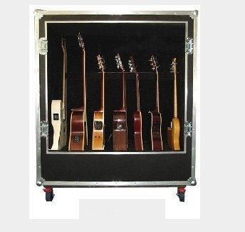 guitar case deluxe guitar case holds 7 guitars buy guitar case guitar flight case guitar road case product on alibaba com