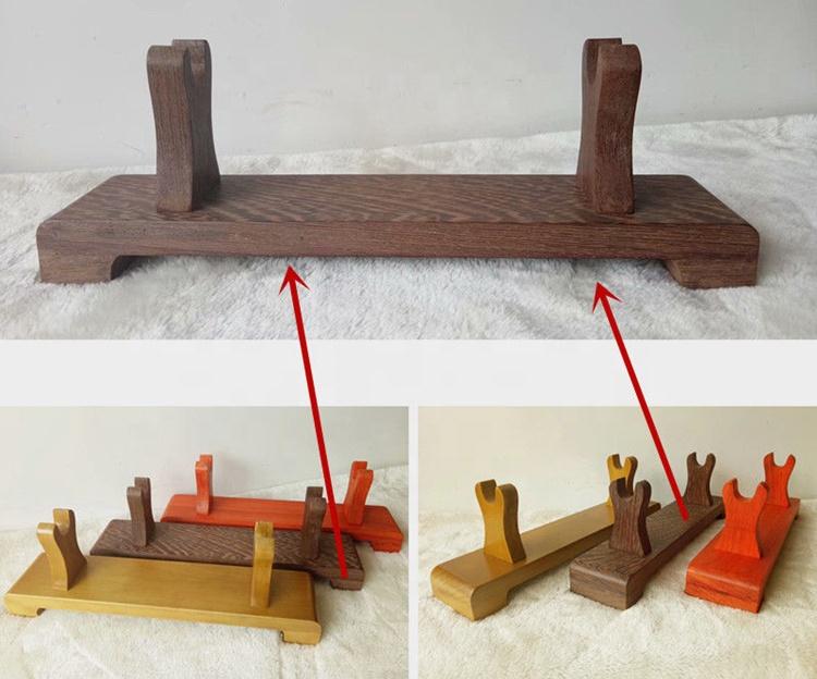wooden sword display rack holder stand buy sword display rack sword stand sword holder product on alibaba com