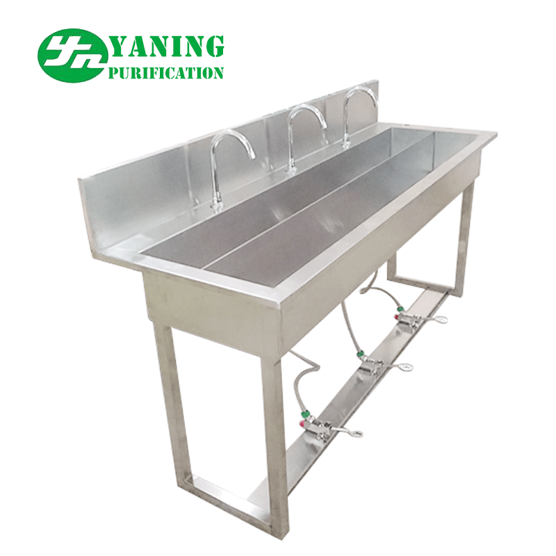 stainless steel foot operated hand wash sink for lab buy foot pedal hand wash sink medical exam room sinks hand washing trough sink product on