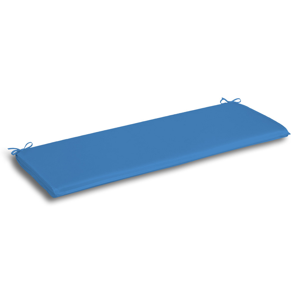 multi use azure blue double flounce floor pad bench seat cushion patio bench cushions for hard chairs buy bench cushions patio bench cushions bench