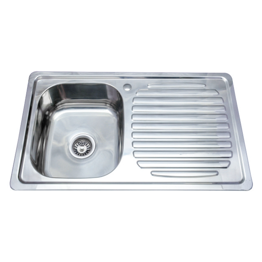 high capacity single bowl kitchen sink with drainboard jsb 8550 buy sink with drainboard single bowl sink kitchen sink product on alibaba com