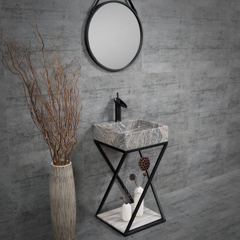 bathroom sink styles art design natural stone vessel sink design metal shelf standing pedestal sink buy bathroom sink styles art design natural