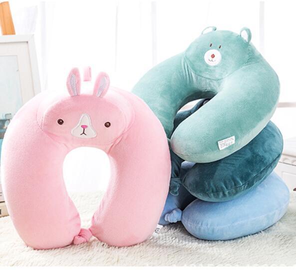funny soft fabric rabbit pillows kids animal sleeping neck pillow buy japanese anime pillows warm neck pillow 3d sleeping tube pillow product on
