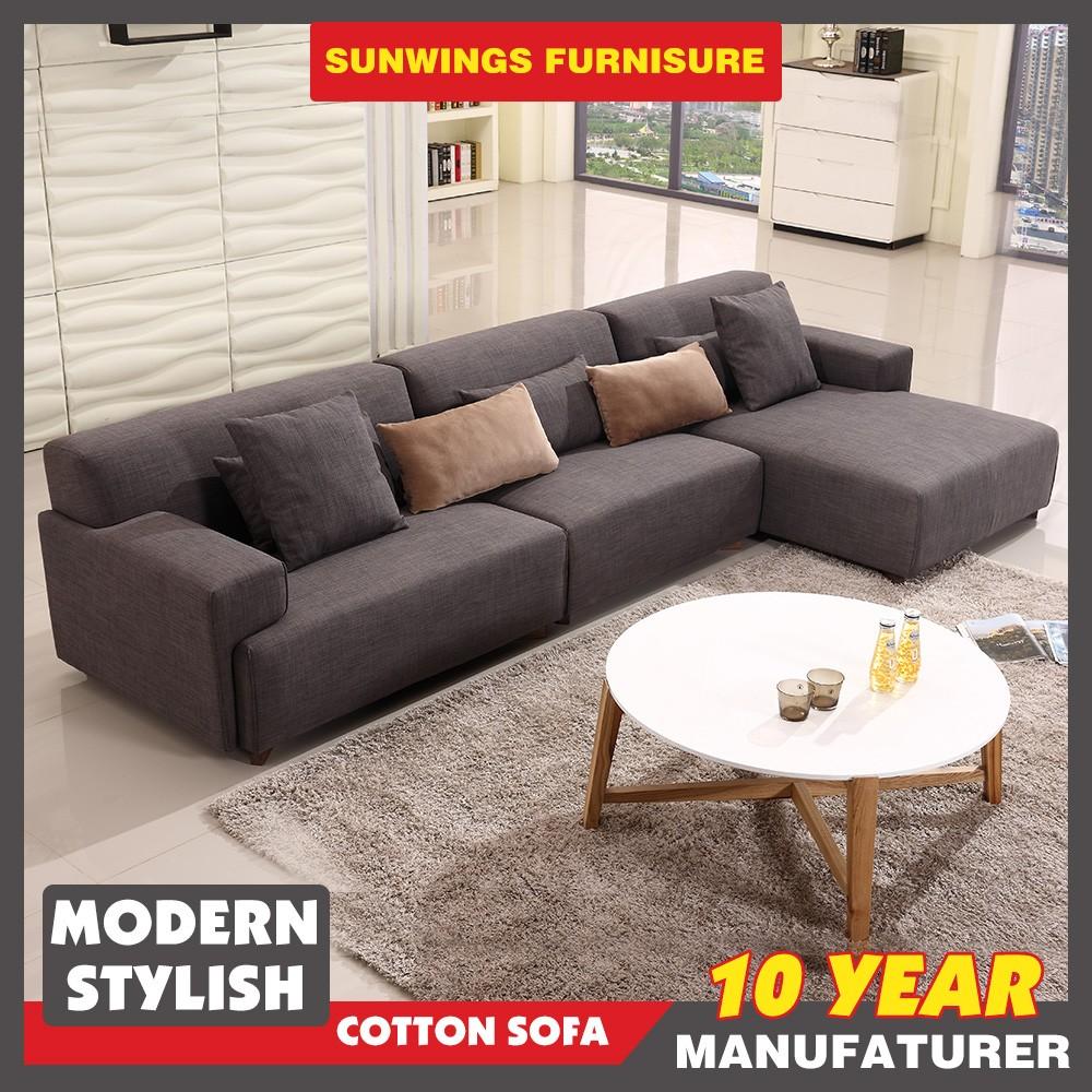 meubles de salon moderne canape en tissu avec la jambe de bois canape ensemble buy meubles de salon moderne product on alibaba com