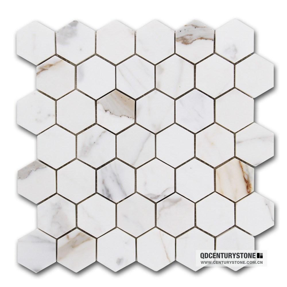 classic bathroom floor parquet 2 calacatta marble white hexagon mosaic floor tiles buy calacatta marble white mosaic floor tiles hexagon mosaic