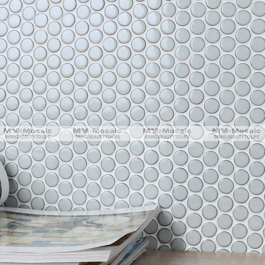 mm mosaic building material 19mm light blue cheap ceramic penny round tiles designs buy penny round tiles ceramic penny round tile penny round tile