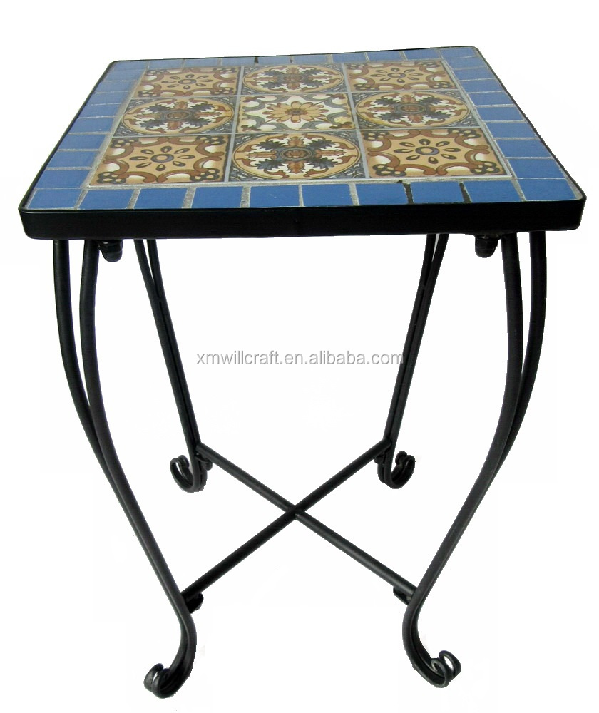 mosaic top small outdoor coffee table buy outdoor coffee table outdoor small coffee table mosaic top coffee table product on alibaba com