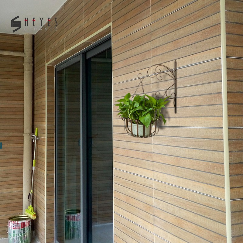 exterior timber look solid wood ceramic wall tiles buy exterior wall tiles solid wood tile exterior tiles product on alibaba com