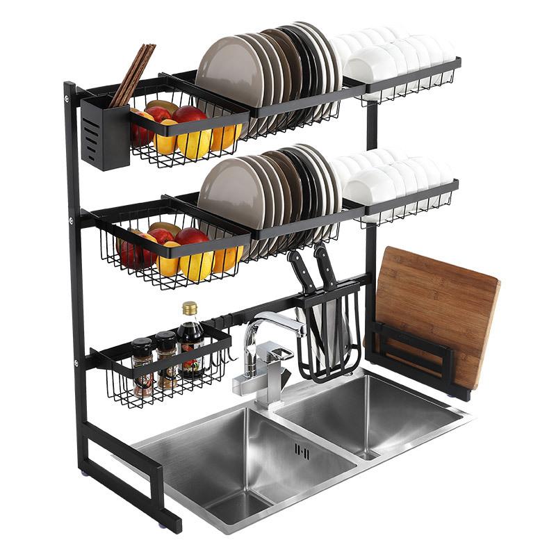 multilayer sink rack dish drain rack kitchen appliance storage rack buy the sink shelf the kitchen drains the dish rack shelf holder product on