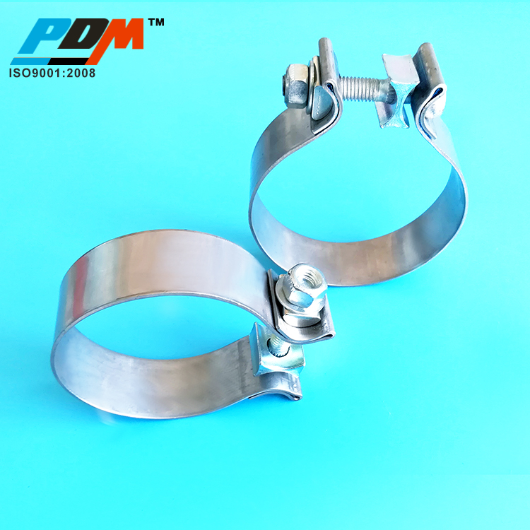 304ss stainless steel car turbo use exhaust system pipe coupler joint o ring clamp lock nut accuseal band exhaust pipe clamp buy high temp pipe