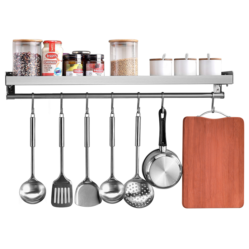 stainless steel wall spice holder