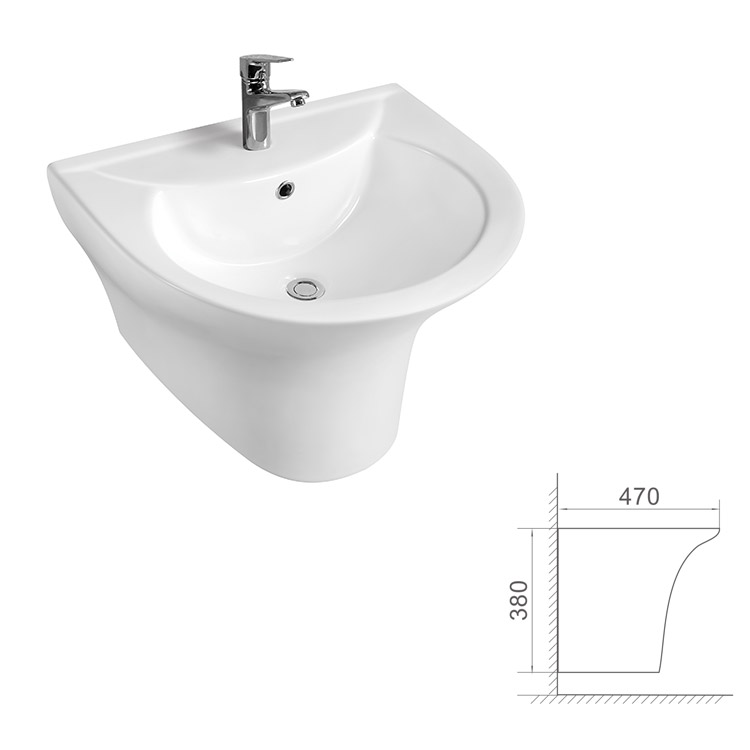 wall hanging sink one piece wall hung basin bath toilet sink buy wall hanging sink one piece wall hung basin bath toilet sink product on alibaba com