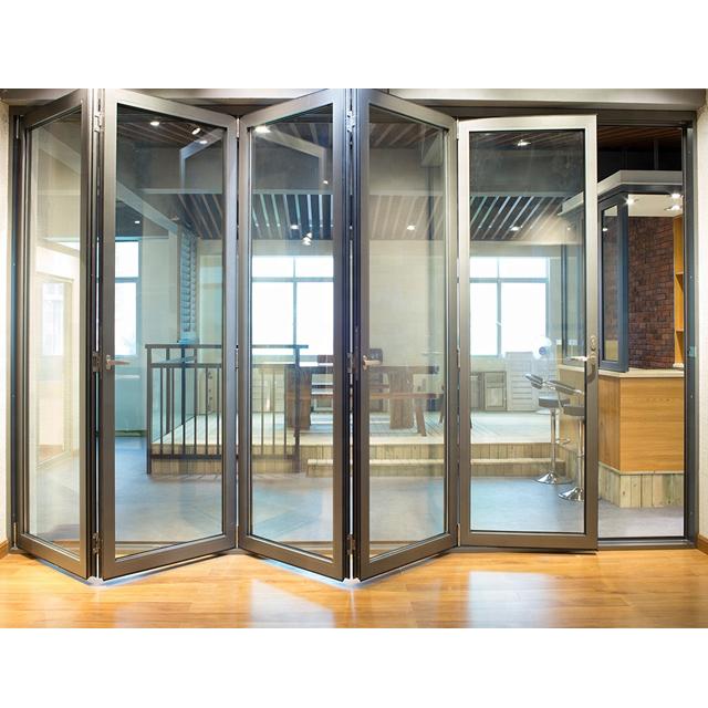 fenetre pliante en aluminium as2047 fenetre pliante double pas cher thermique porte de balcon buy porte pliante porte du balcon porte en verre