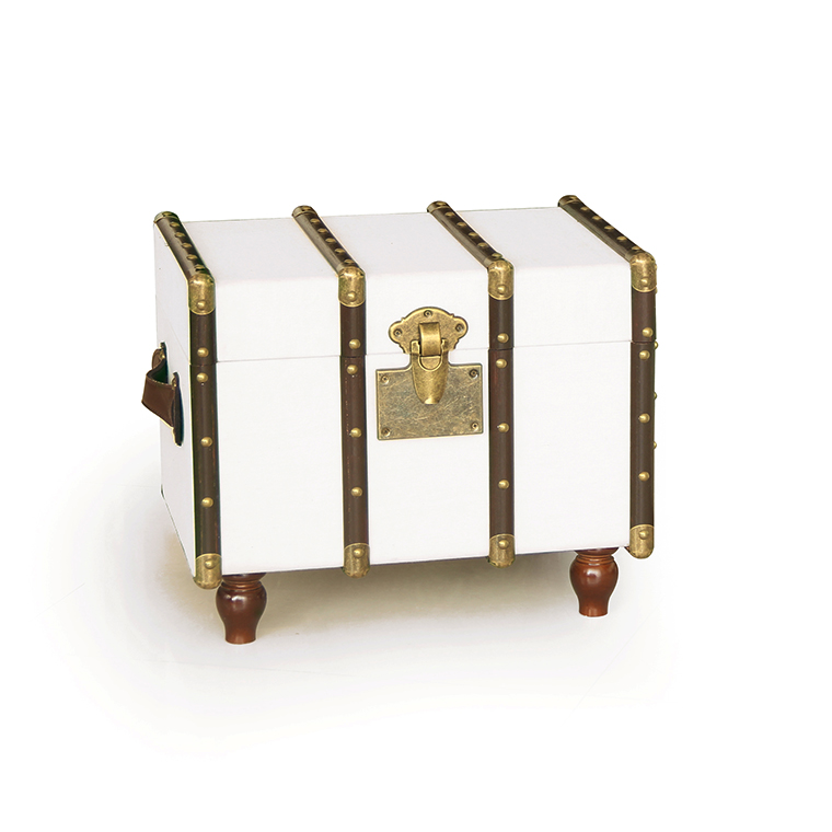 antique set of 2 rectangular white fabric covered storage trunk wine storage trunk trunk coffee table with wooden legs buy fabric covered storage