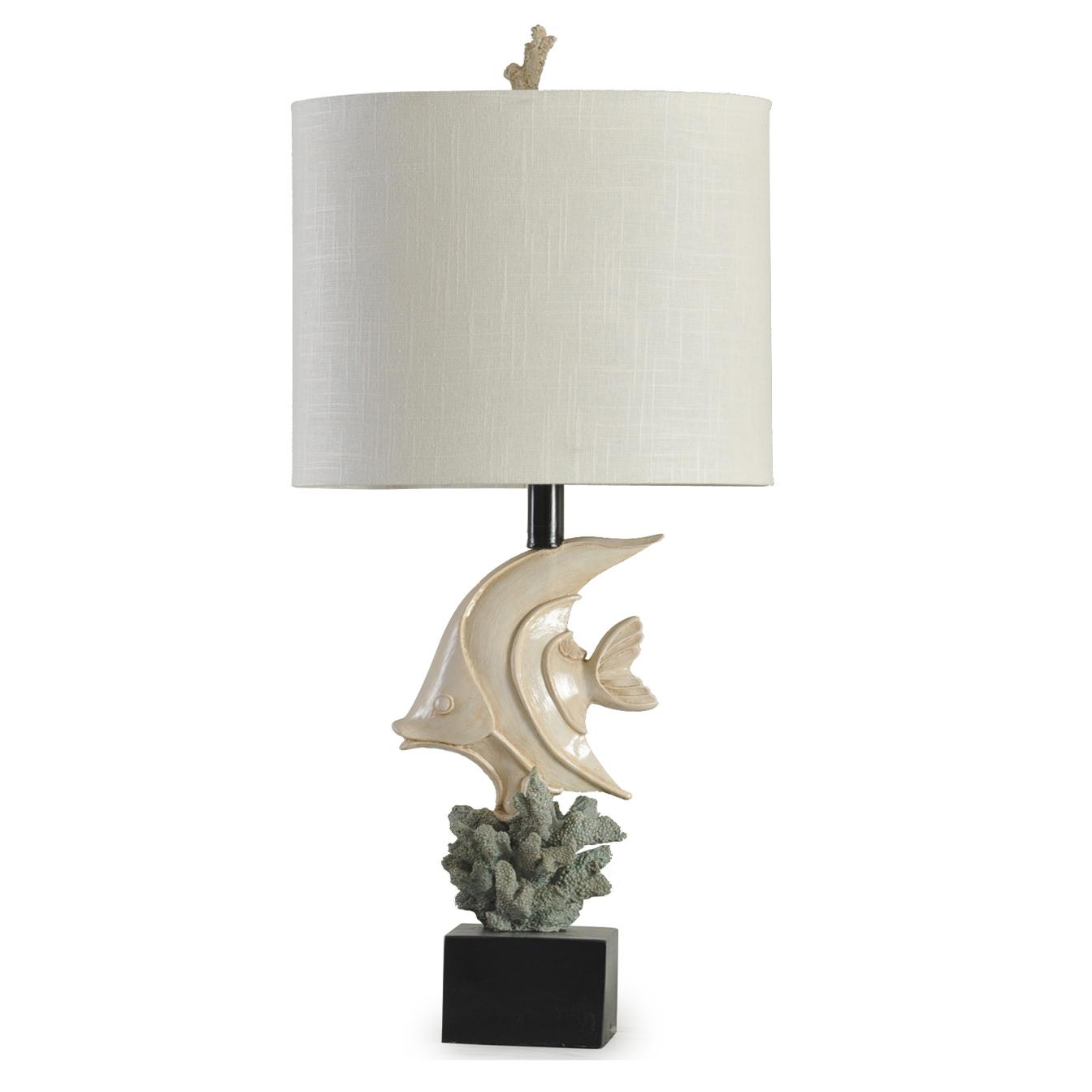 mediterranean style vintage table lamp resin handmade desk top lamp sea fish family decorative lights creative indoor lighting buy mediterranean