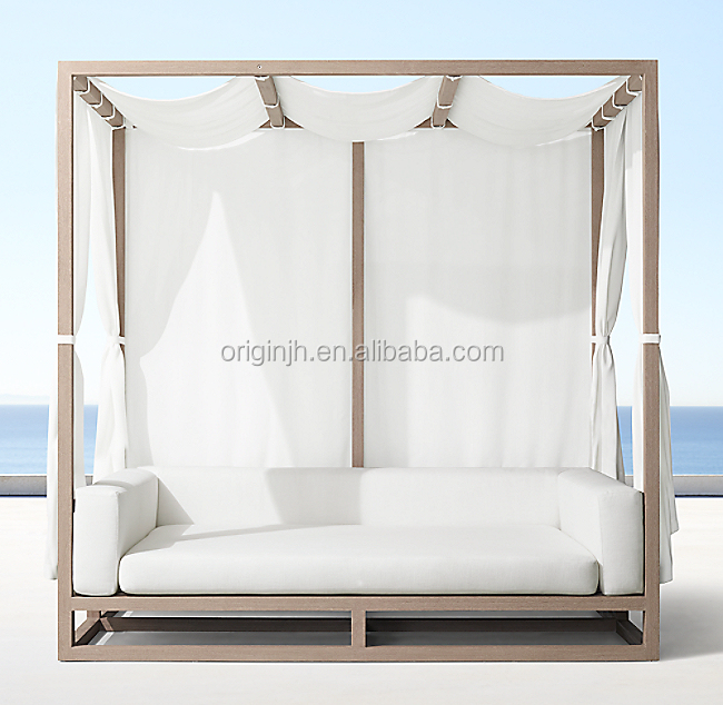 beautiful look modern design outdoor patio furniture framed openings teak canopy daybed buy canopy daybed teak furniture outdoor furniture product