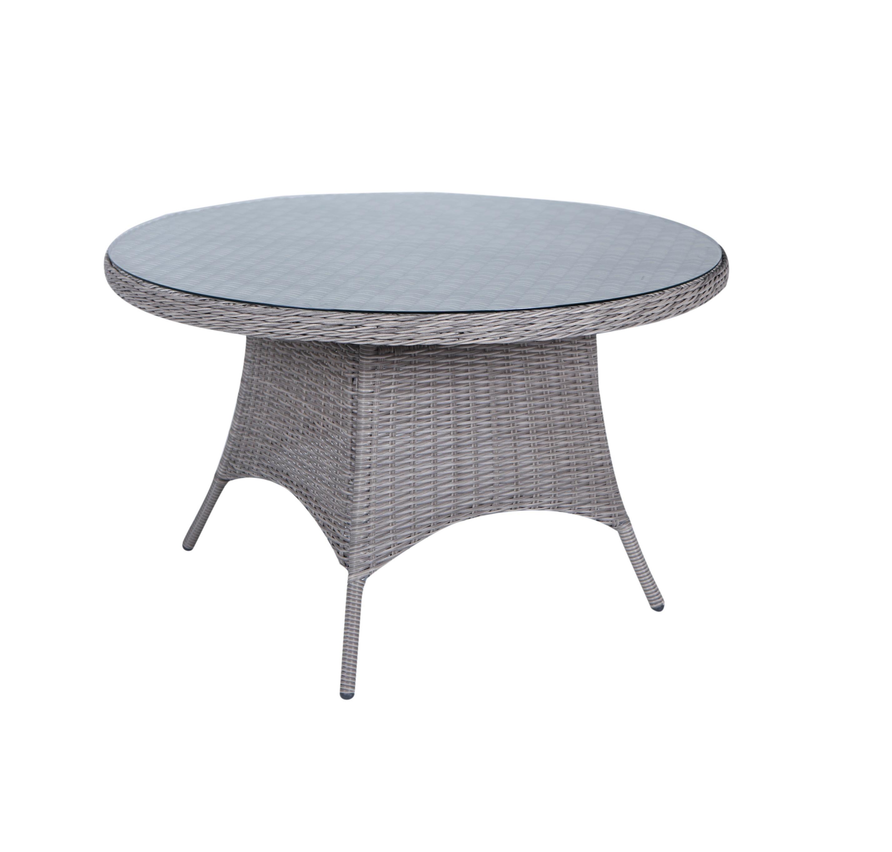 patio furniture aluniumum rattan round glass top outdoor dinning table buy patio alunimun table round dinning table rattan glass table product on alibaba com