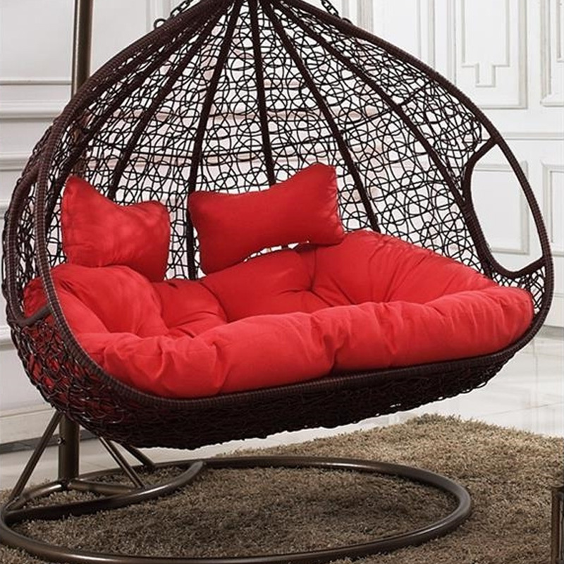 modern outdoor patio swing chair two seat patio swing wicker swing chair china factory wholesale hanging chair hanging basket buy wicker hanging
