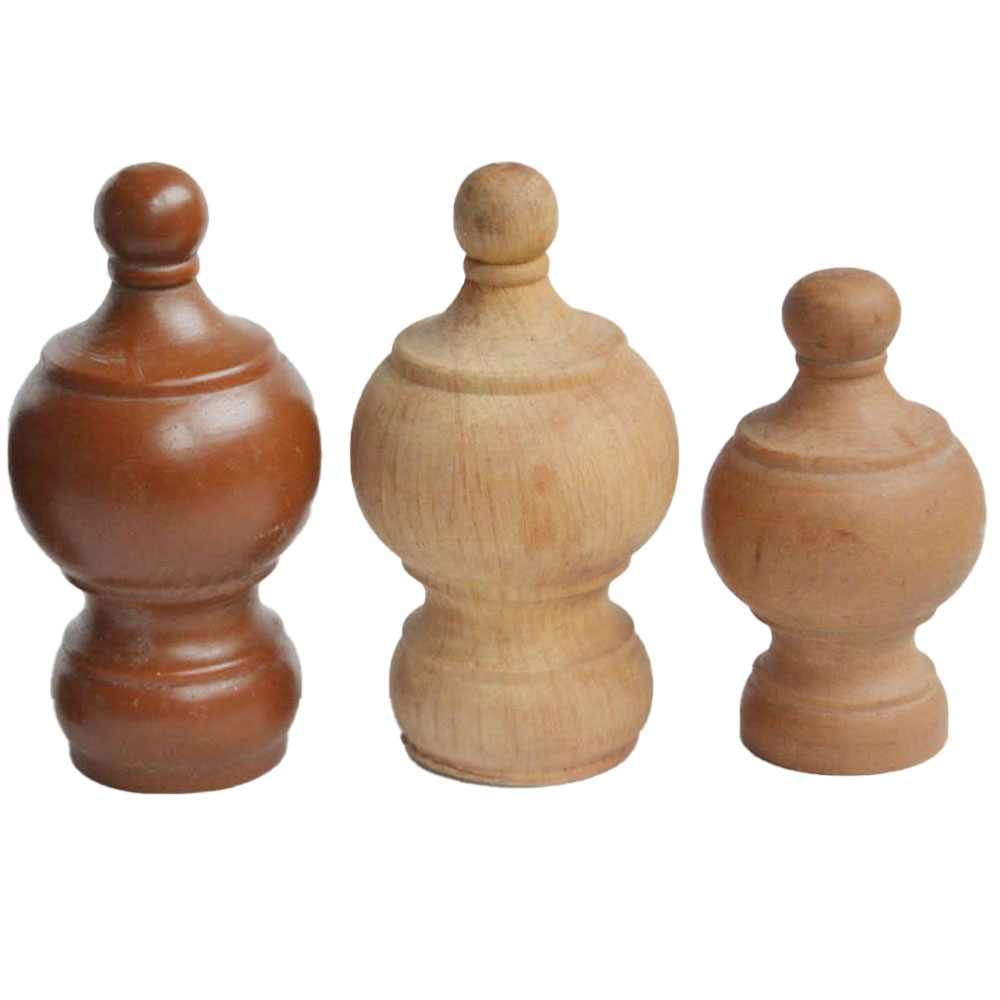 wood finials for curtain poles 19mm 28mm 35mm wooden curtain rod accessories finials buy curtain rod finials curtain pole finials curtain finials