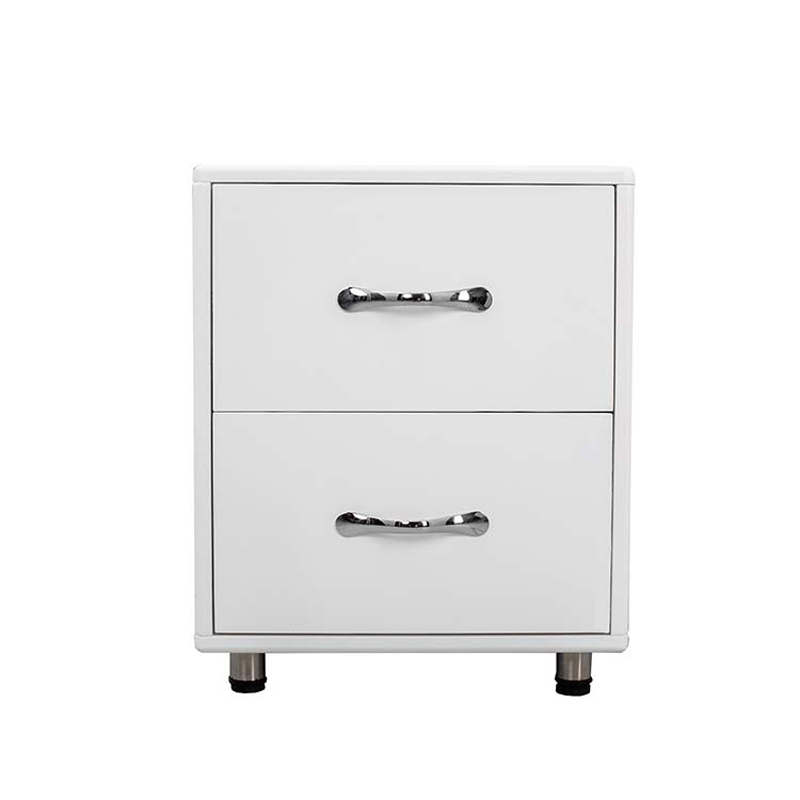 dreamve contemporary white bed side table 2 drawers night stand buy white bedside table french bedside table retail night light display stand product on alibaba com