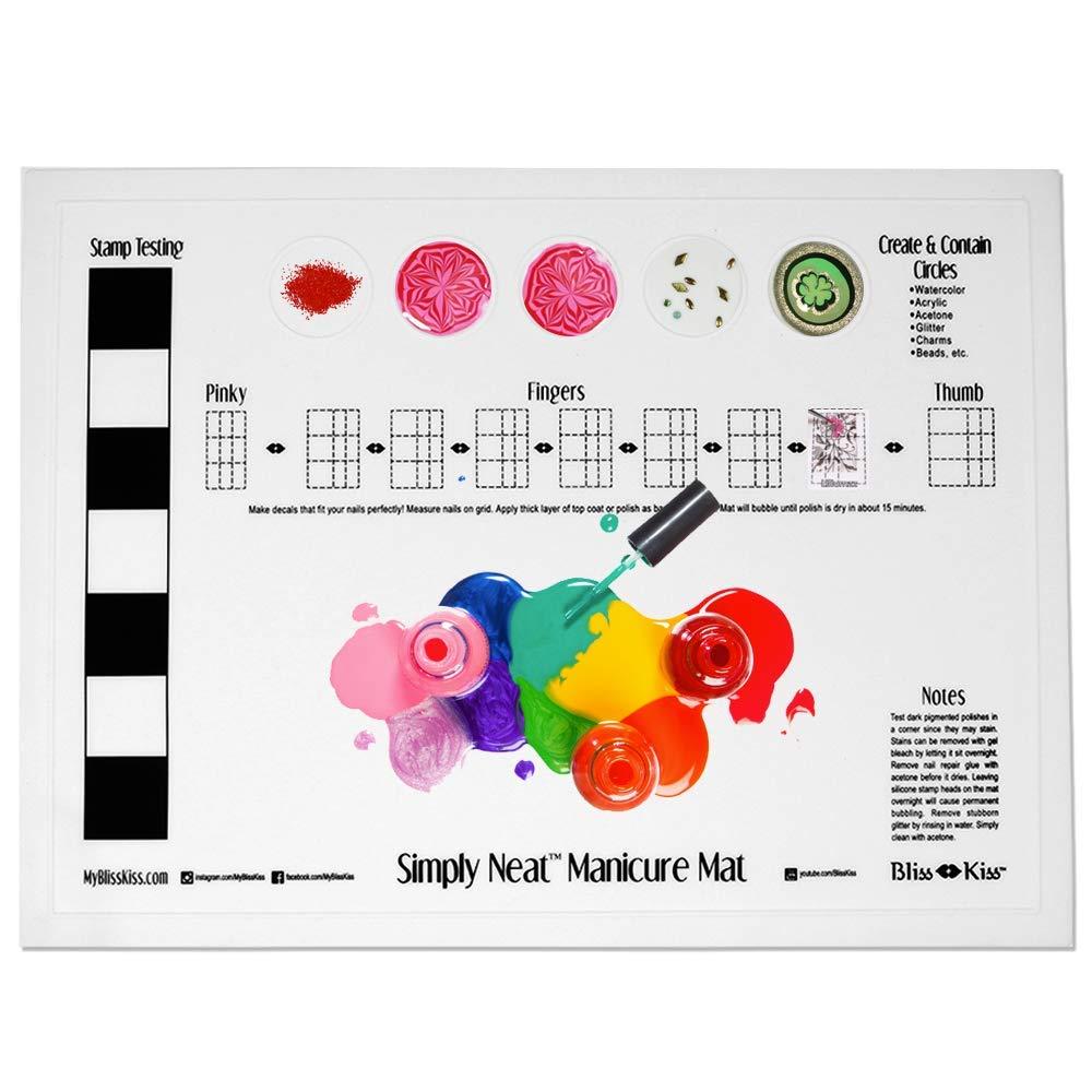 tapis a ongles en silicone avec logo imprime personnalise outil de manucure carre pour table de vernis a ongles 40x30cm 1 piece buy personnalise