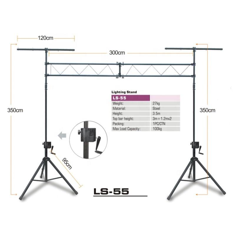 kool sound wholesale on stage metal floor lighting stand ls 55 buy lighting stand adjustable lighting stand stage lighting stand product on