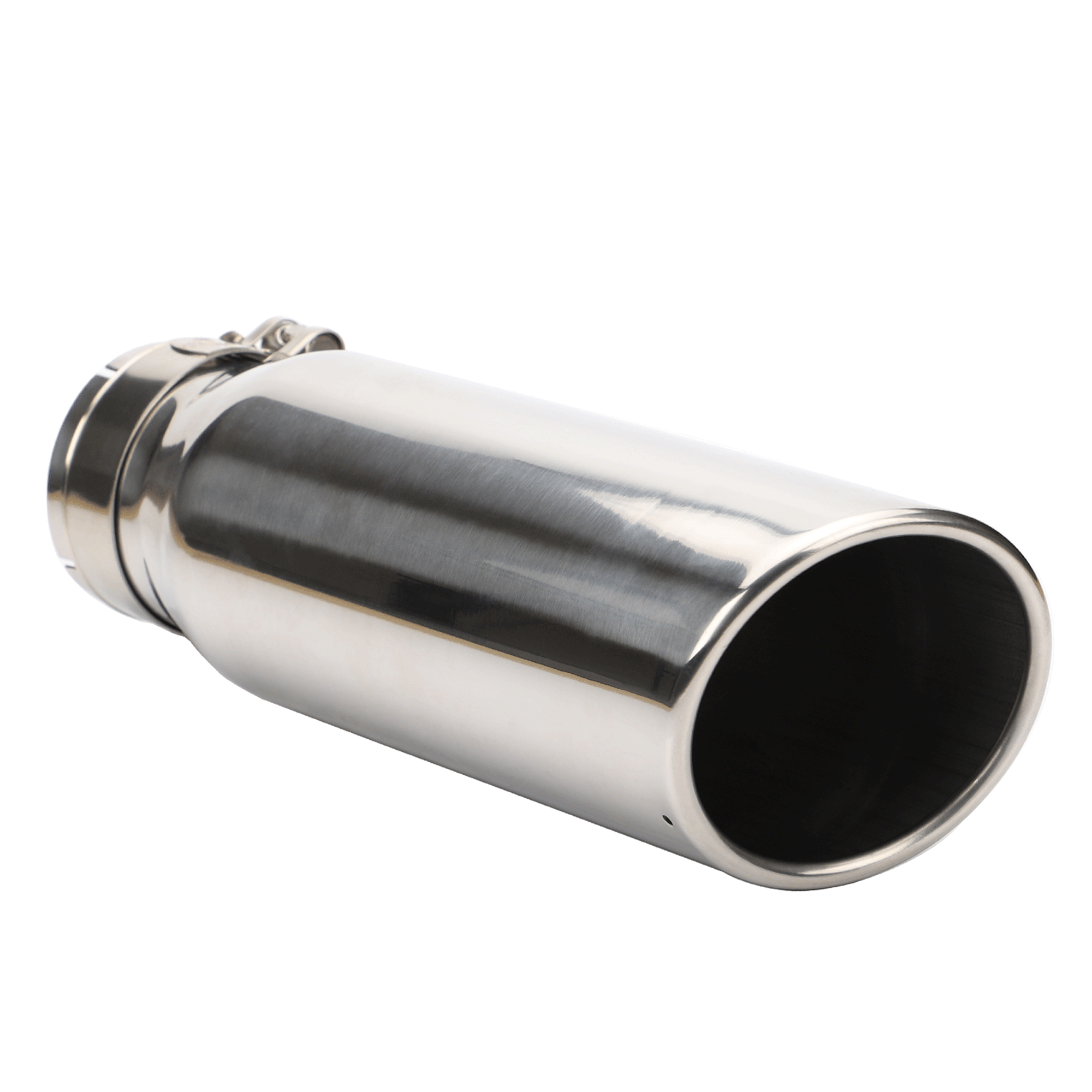 exhaust tip 3 inch inlet x 4 inch outlet x 12 inch long chrome polished stainless steel angle cut rolled exhaust tip buy exhaust tip 3 inch inlet x