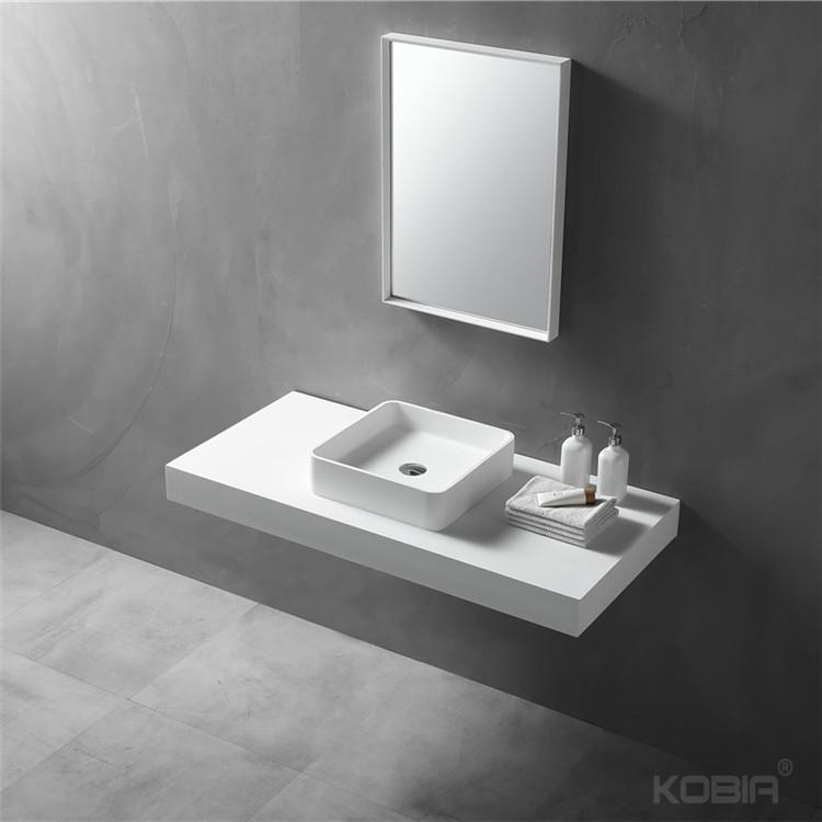 bathroom luxury upc lavabo acrylic solid surface corians matt white bathroom sink and countertop buy bathroom sink upc bathroom sink lavabo salle de
