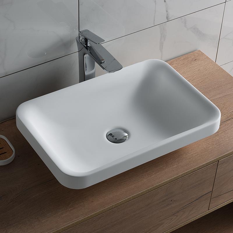hot sale small bathroom vanity sink vanity wash basin buy small vessel sink new fashion sanitary ware resin sink product on alibaba com