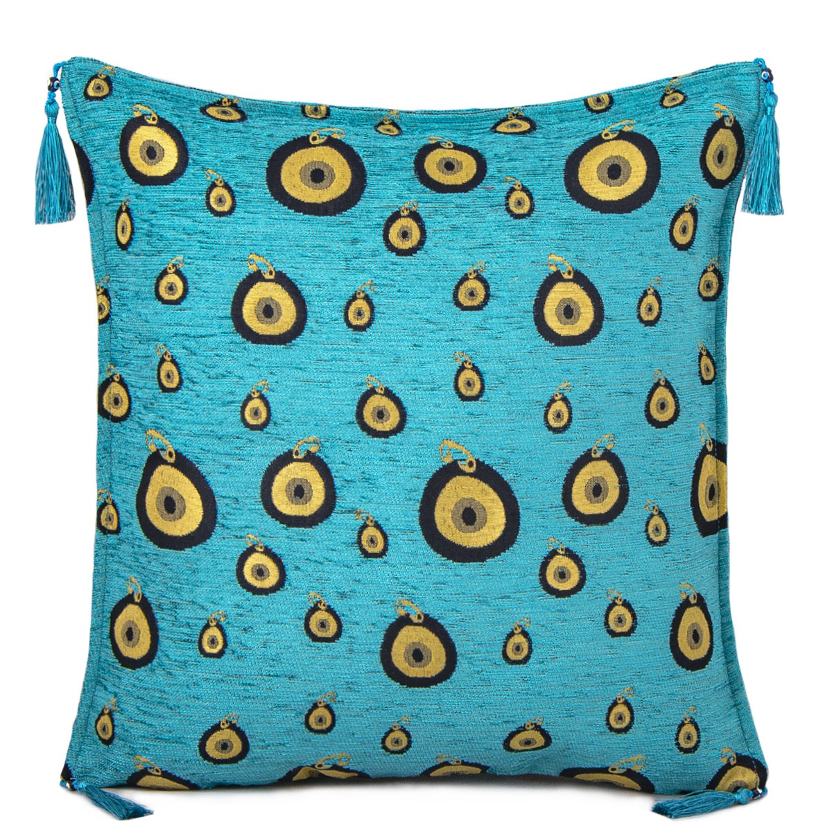 evil eye nazar designed turquoise turkish ottoman cushion pillow cover buy cushion covers design pattern turkish pillows and cushions turkish