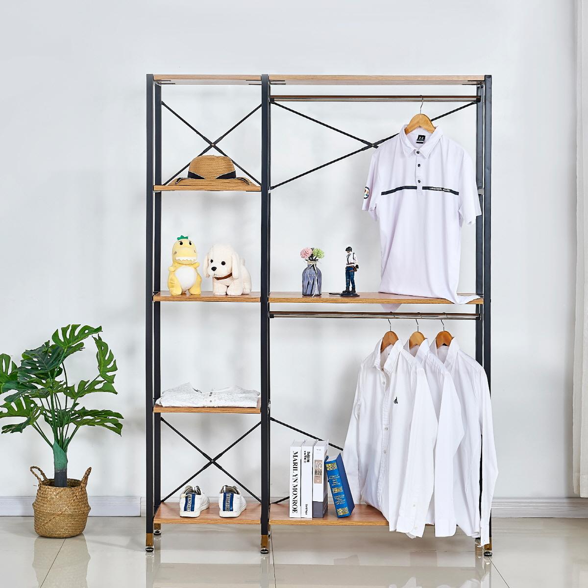 modern metal frame wooden hanging clothes closet shelving wardrobe cabinet drawer underwear organizer dividers buy closet organizer closet system