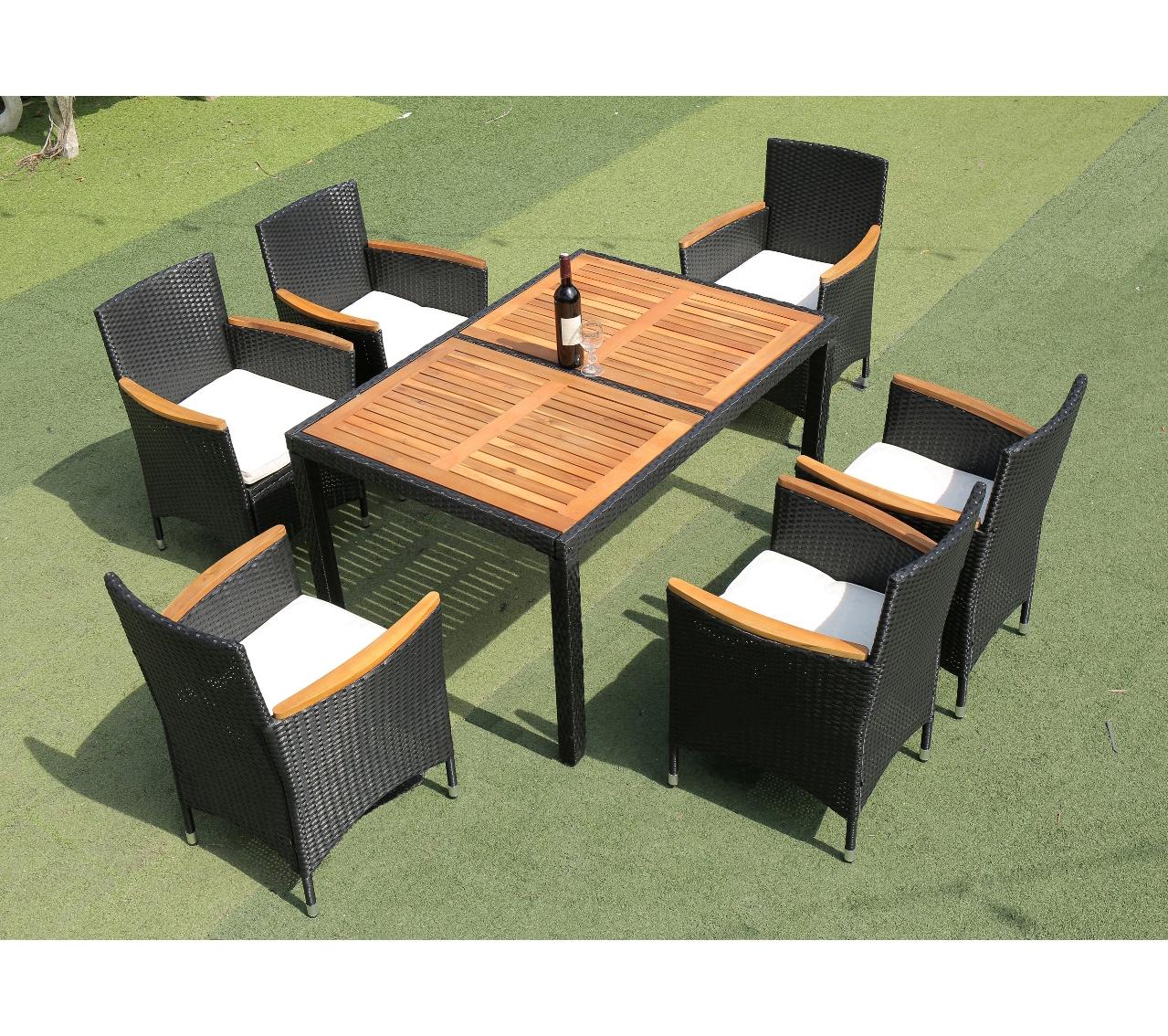 pe poly wicker rattan outdoor garden furniture dining set 6 seater buy rattan outdoor furniture poly rattan furniture outdoor patio furniture product on alibaba com