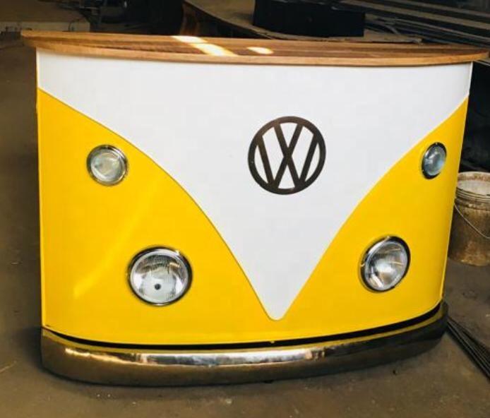table de comptoir de bar style rustique et antique meuble industriel vintage volkswagen vintage avec phares 2 pieces buy industrial automobile