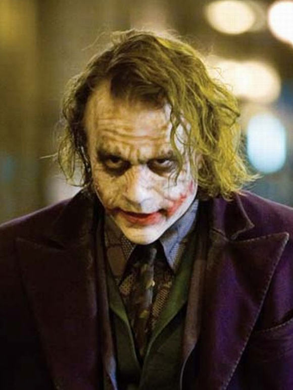 The quietly ironic in the dark knight. Diffusion