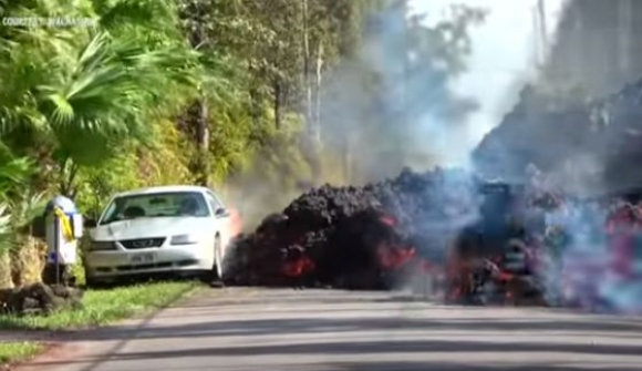 Volcán Kilauea. Foto: Captura de pantalla