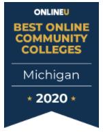 OnlineU banner Best Michigan Community Colleges