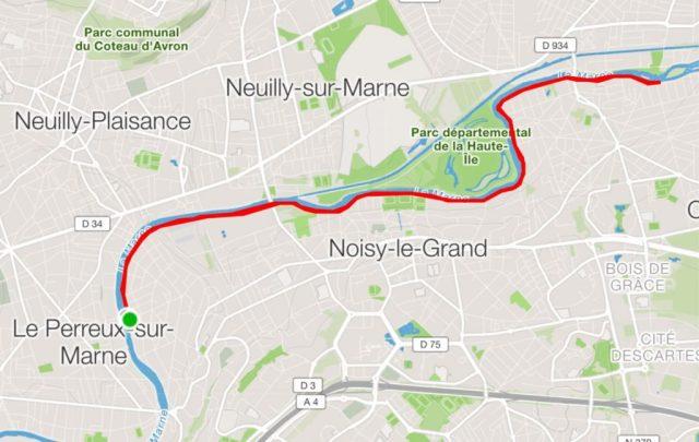 Parcours Bords de Marne