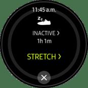 Samsung Gear S2 S Health Inactive Alarm screenshot