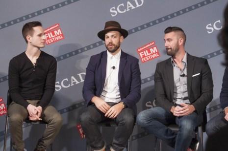 Emmy Award-winning sound designer and owner of Unbridled Sound, Brent Kiser advises students at the SCAD Alumni Panel.