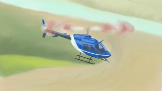 Вертолёт Bell-206L4 «Maveric»