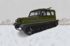 Снегоболотоход УАЗ «Ухтыш»